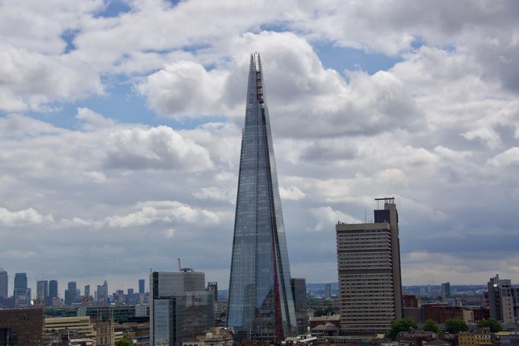 London Architecture City No People Outdoors Pyramid Skyscraper The Shard Tower