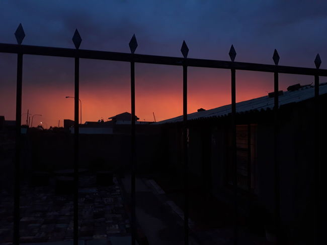 Sunset Sky Silhouette City Sun Cityscape Landscape Dusk Travel Destinations Bridge - Man Made Structure Business Finance And Industry Awe Architecture Outdoors Built Structure Urban Skyline No People Nature Smartphonephotography After The Rain Township Soweto SowetoSouthAfrica Astronomy Golf Club