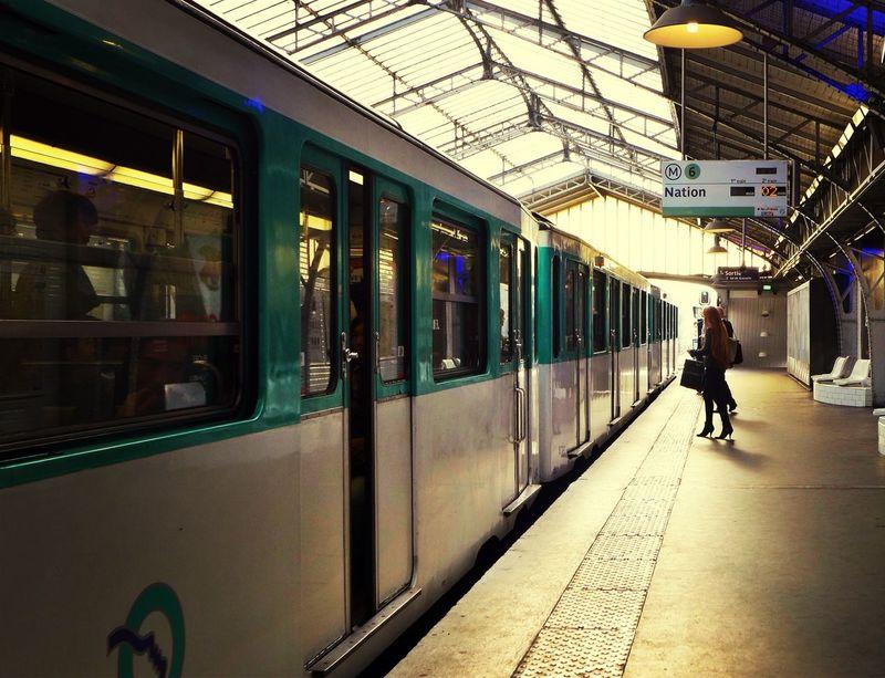 Underground Signs Metro Paris EyeEm Best Shots
