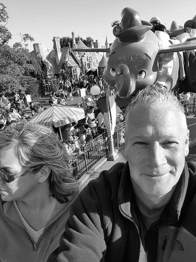 Need For Speed Dumbo Pilot Selfie Portrait Disneyland Amusment Park EyeEm Gallery Eyeemphotography EyeEmBestPics EyeEm EyeEm Best Shots - Black + White S6