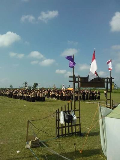 Gerakan Pramuka 2016 Eyeem Education Perkemahan Pramuka 2016 Jamboreindonesia2016 EyeEm Indonesia No Edit Persami2016 No Editing