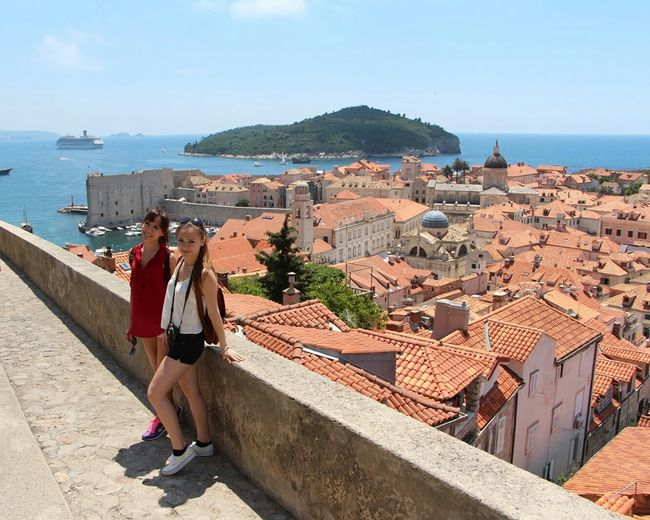 Better Together Enjoying Life Traveling RePicture Friendship Hello World Enjoy Mediterranean  Girls With My Sister  Hi!