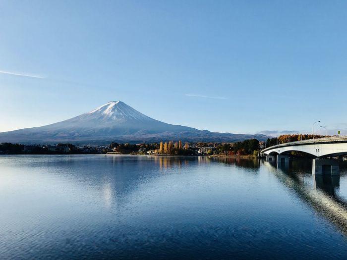富士山河口湖 Mountain