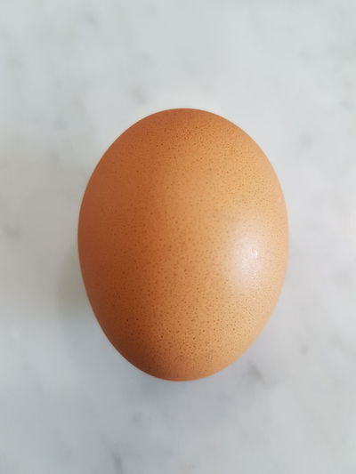 An eeg. Egg Healthy Eating Food And Drink Protein Food Eggshell Close-up Raw Food An Egg Egg Isolated