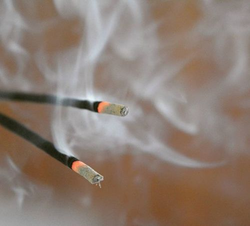 Incensesticks Agarbatti Temple Prayers Peace Fragnance Randomclick MyClick Camclick Shaukbahutbadicheezhai