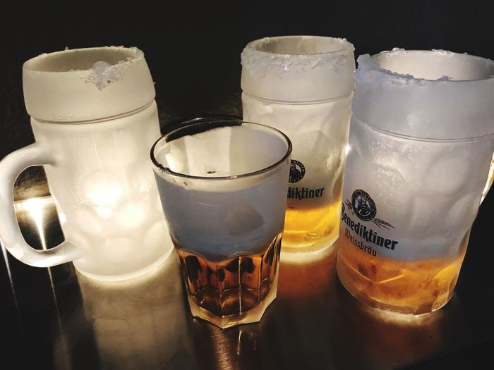 Birra some biers and friends Food And Drink Table Indoors  Drinking Glass Freshness Transparent