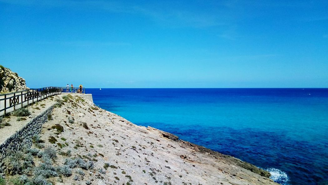 EyeEm Selects cala mesquida view on mallorca balearic island in spain Beach Sea Sand Blue Vacations Outdoors Travel Destinations Nature Scenics Been There. Mediterranean  Mallorca Majorca Cala Mesquida