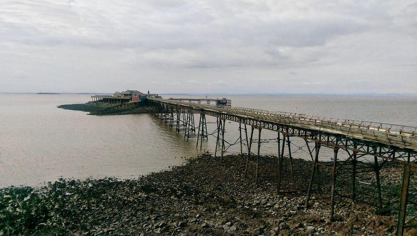 Weston-super-mare Architecture Building Exterior Pier Decay And Dereliction