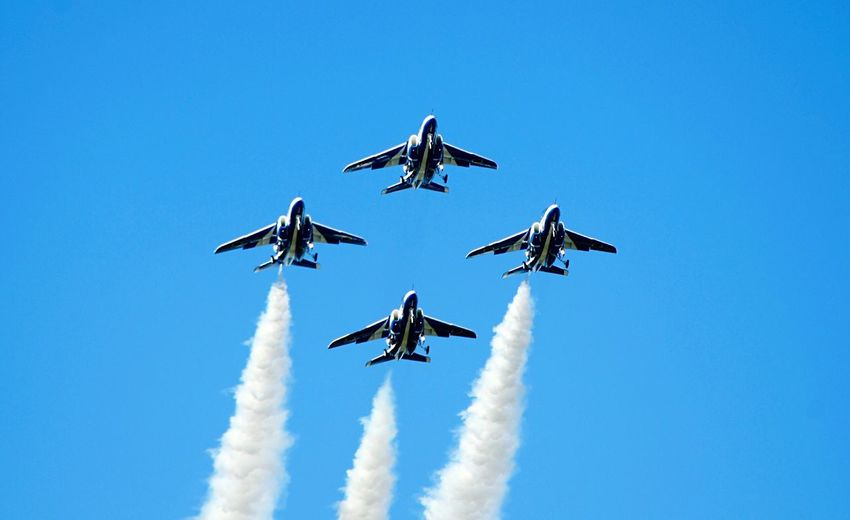 Fukuoka,Japan Todays Hot Look Blue Impulse