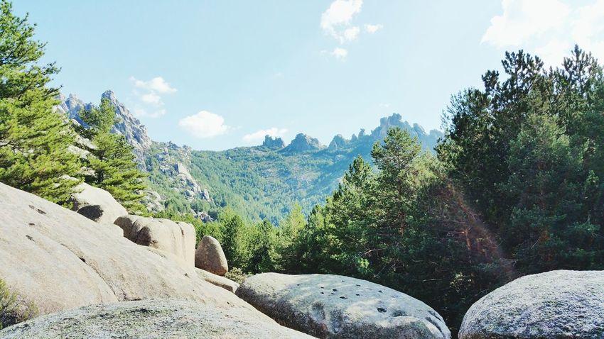 La pedriza Sierra De Guadarrama Madrid Mountains