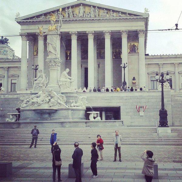 Picoftheday Instagramphoto Tagsforlike Likeforlike instagood instamood beautiful city Wien2013Wienparliament