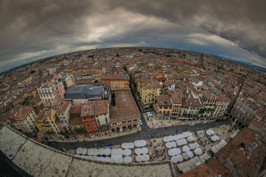 italia Aerial View Architecture Building Exterior Built Structure City Cityscape Cloud - Sky Day Dome Fish-eye Lens High Angle View Italia Italie Italien Italy Italy❤️ Italy🇮🇹 No People Outdoors Panorama Sky Ultra Wide Angle Verona Wide Angle ıtaly