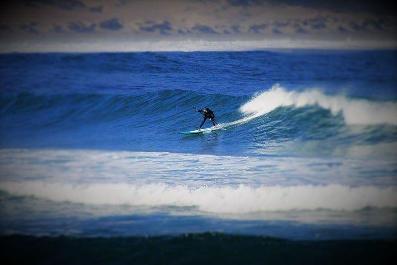 Lo más lindo es ser libre en la Ola... 4° Región, Coquimbo, Chile En La Playa De Pichidangui Punta Quelen