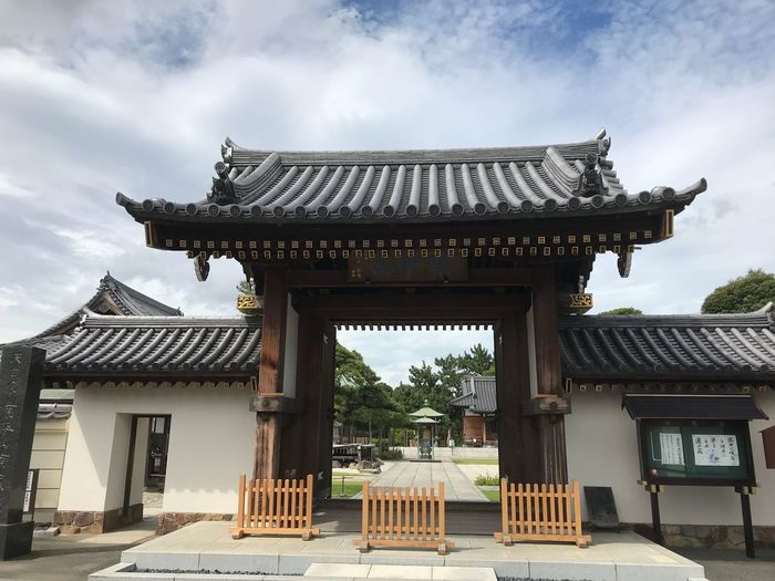 Temple sekibutsu Architecture Built Structure Building Exterior Sky Religion Roof Building Spirituality No People History Cloud - Sky Place Of Worship The Past