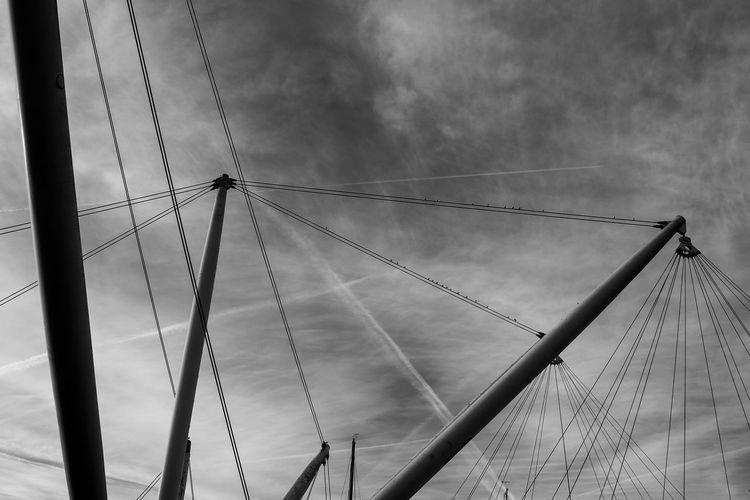 Architecture Bigo Close-up Cloud - Sky Day Genova Low Angle View Nature No People Outdoors Renzo Piano Rpbw Sky