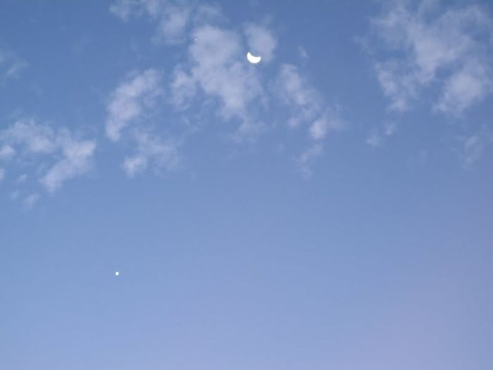 Moon Night Sky Skylines Swift Fortworth Tx