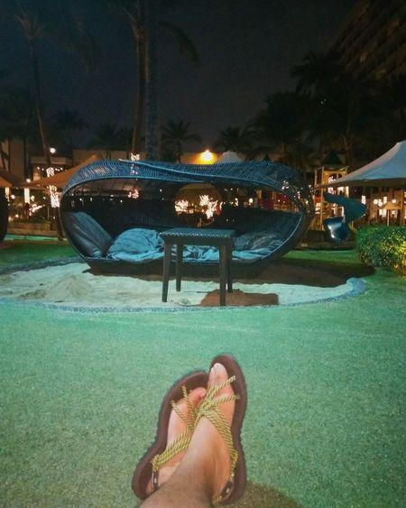 Shadow Outdoors Tree Swimming Pool Sandals Sofitelmanila Sofitel Night Light
