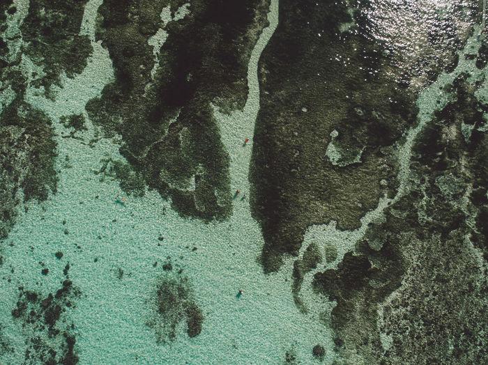 Aerial vie of sea