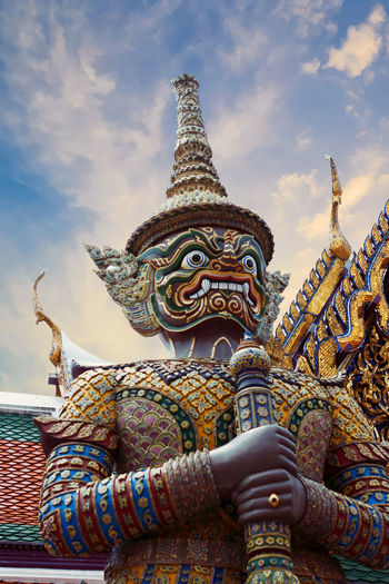 Architecture Bangkok Thai Thailand Wat Phra Kaew Buddhism Landmark Religion Royal Palace Travel Destinations