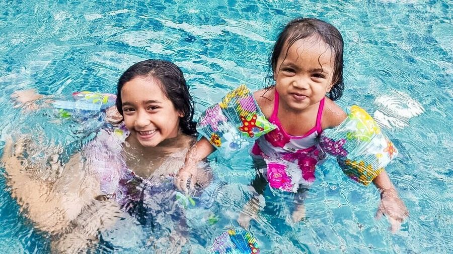 Future expert People And Places Happy Moments Swimming Time Mummy Love  Beautiful Girl Togetherness Smiling Enjoyment