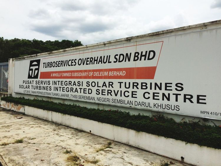 Skolah utk 5hr Solar Turbine Training Senawang