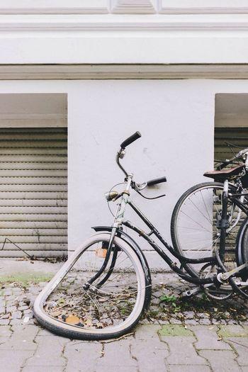 Shtomp Bicycle Kreuzberg Urban Landscape Decay
