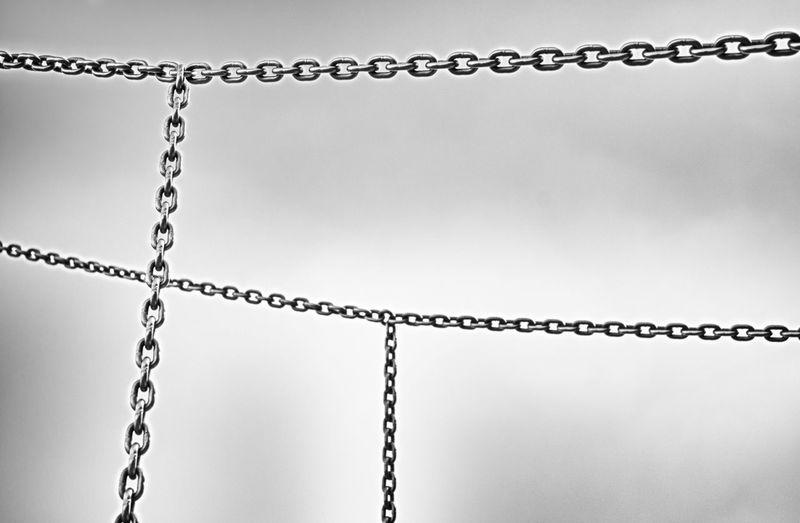 Chain Chainlink Fence Hrd Metal Metallic