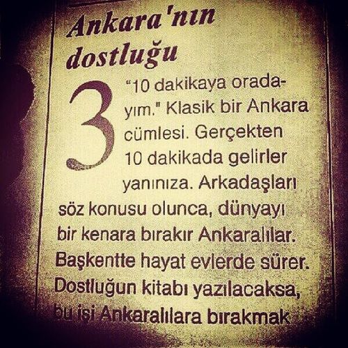 Ankara Baskent Dostluk Berrak