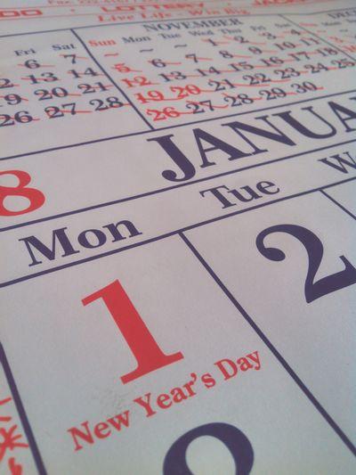 Text Communication Close-up No People Indoors  Sport Day Beginner Skills EyeEmNewHere High Angle View EyeEm Ready   Calendar 2018 Calendar Calendario Calendar Pic✌ New Year 1 Nuevo Año ❤