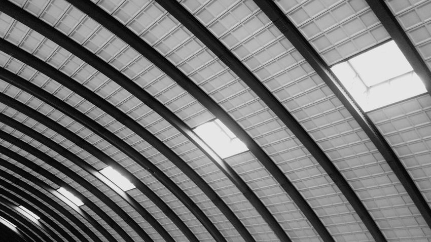 Pattern in Blackandwhite /// Urban Architecture Geometric Shapes Steel Structure  EyeEm Gallery Building Main Station  Windows Pattern Pieces