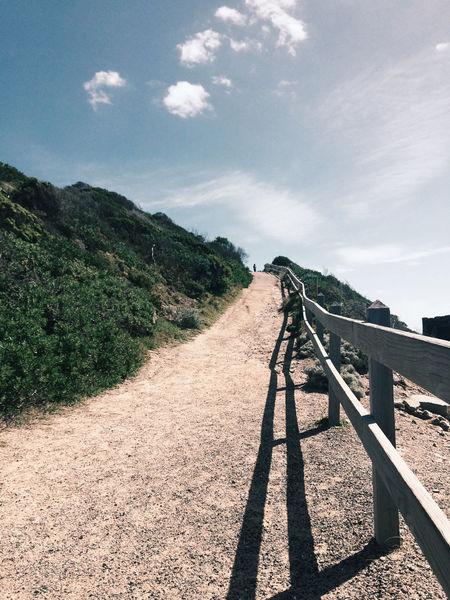 Endlessness Just Around The Corner Beach Path Hills Coast Australia Point Nepean Trails Portsea Mornington Peninsula