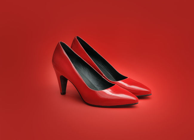 Colored Background Court Shoe Court Shoes Foot Heeledshoes Heels No People Objects Objektifimden Pumps Pumps ♥ Pumpshoes Red Red Red Background Shadow Shoe Shoes Studio Shot Women's