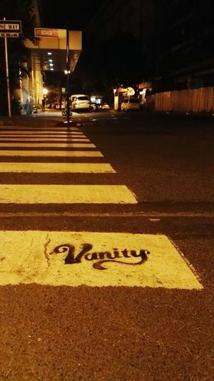 Pedestrian crossing graffiti.