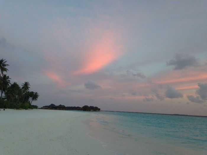 Maldives ??✨ Summer ☀ Vacation Irufushi Clouds Beautiful Nature No Filter