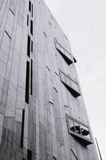 Architecture Built Structure Building Exterior City EyeEm Modern The Architect - 2017 EyeEm Awards Architecture Arts Culture And Entertainment Structure Black & White Blackandwhite Photography