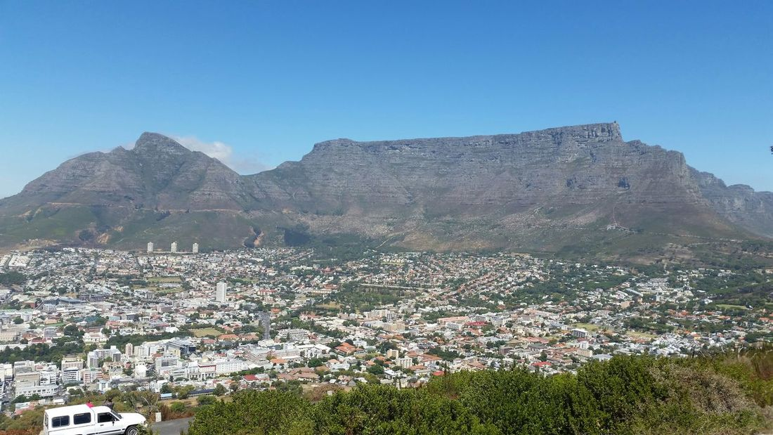 Check This Out Cape Town Beauty Table Mountain Signal Hill I Love Cape Town Capetown Cape Town Clear Skies, Sun Shining Clear Skies My Country In A Photo