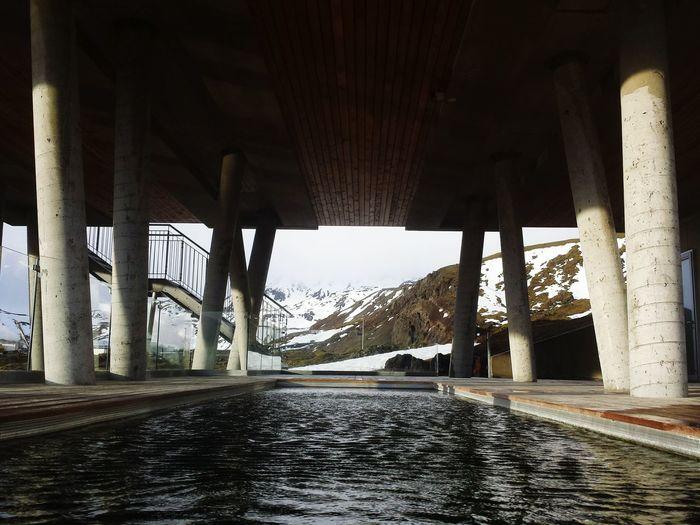 Ion Hotel Pool Spa Pool Geothermal Spa Geothermal  Winter Iceland Memories Mountains