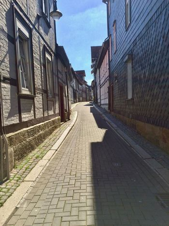 Architecture Building Exterior Built Structure City Day Goslar Harz No People Old Buildings Old House Old Town Outdoors Sky Street The Way Forward Urban Way