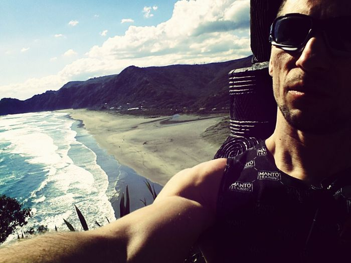 Super place:) Newzealand Beachphotography Piha Great View