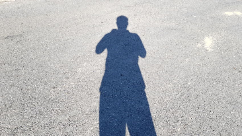 My Shadow LucidPhoto LungMhee City Day Focus On Shadow High Angle View Land Leisure Activity Lifestyles Men Nature One Person Outdoors Real People Road Shadow Standing Street Sunlight Three Quarter Length Unrecognizable Person
