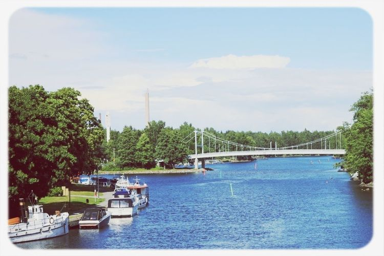 Valkeakoski Lake Bridge City