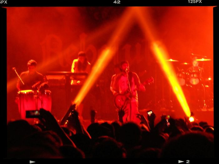 Rebelution playing 'Sky is the limit'. Colors Reggae Rebelution Marquee Theater
