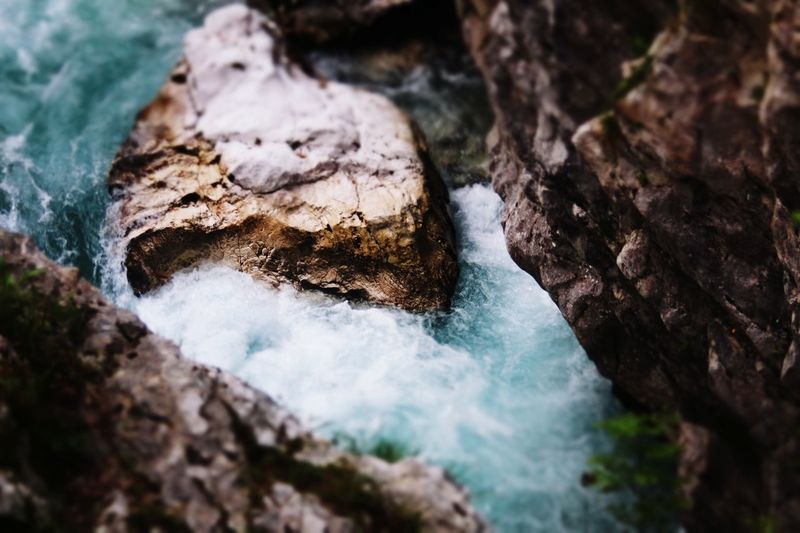 Water River Wild Tilt Shift Blue Perfect Beauty Freshness Plant Beauty In Nature Clear Water From My Point Of View From Top To Bottom Rocks Tale  Down Fast Tale  No People Travel Forest Day Scenics The Great Outdoors - 2017 EyeEm Awards