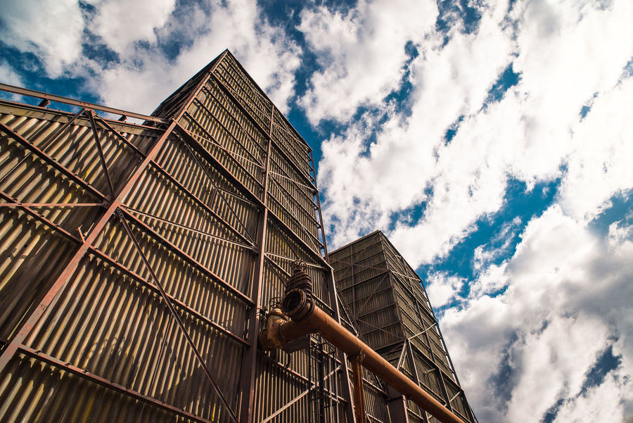 Landschaftspark Nord Architecture Building Building Exterior Built Structure City Cloud - Sky Construction Industry Day Industry Low Angle View Modern Nature No People Office Building Exterior Outdoors Residential District Sky Tall - High Tower