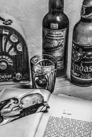 Amor Bottle Drink Indoors  Loneliness Love Madre E Hijo Mother Mother And Son Nostalgia Nostalgic  Recuerdos Remember Soledad Son