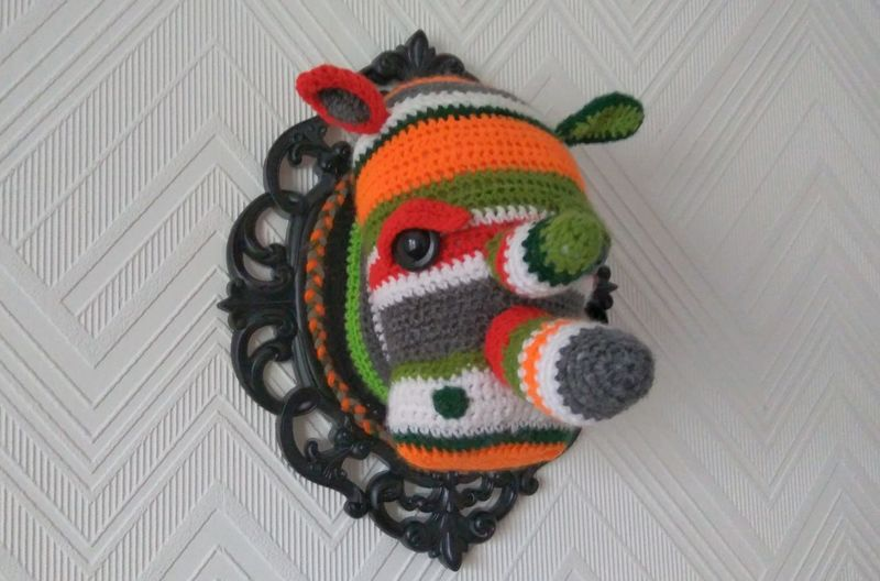 Multi Colored Close-up No People Outdoors Day Handmade Crochet Faux Taxidermy Uniqueness Leiblingsteil