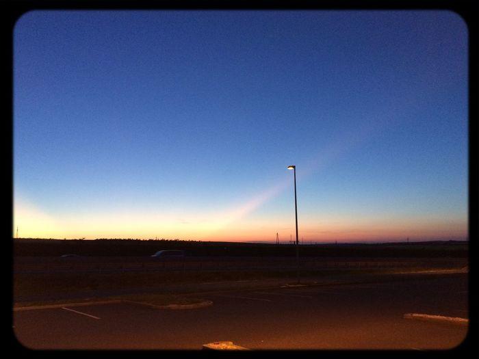 Sky Roadtrip,  Sun Down