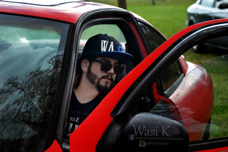Beard Car Car Photoshoot Close-up Day Land Vehicle One Person Outdoors People Real People Wasi K Wasi Khan Young Adult