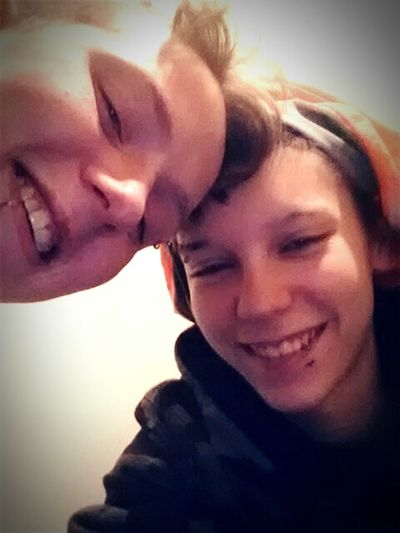 Me and the girlfriend(: