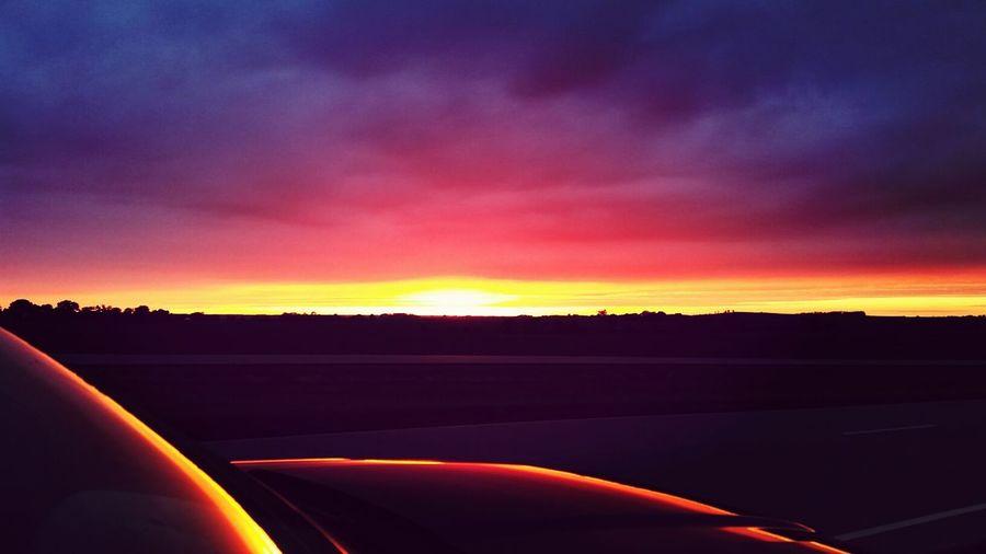 Southdakota Sunset Lovers Stunning Pink